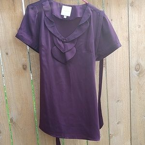 Purple Modcloth blouse